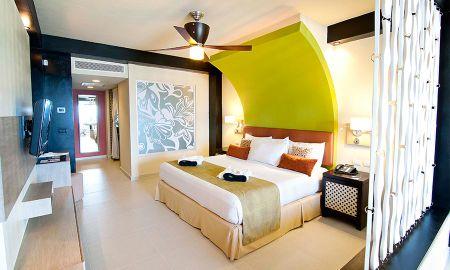 Suite Júnior Privilégio - Vista ao Jardim - Ocean Coral & Turquesa All Inclusive - Cancun