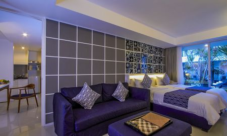 Suite Apartamento de dois quartos - Astana Pengembak Suite Apartment & Villa - Bali