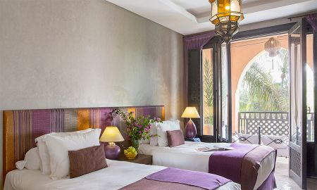 Deluxe Room (Free airport transfer, Free Breakfast, Free Wifi) - Palais Aziza & SPA - Marrakech