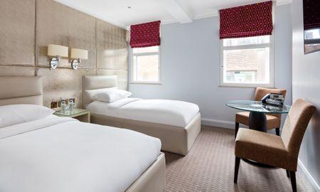 Habitación Superior - Radisson Blu Edwardian Mercer Street Hotel - Londres