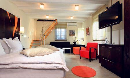 Suite - Garden Lodge & Spa - Hotel Le Cerf - Marlenheim