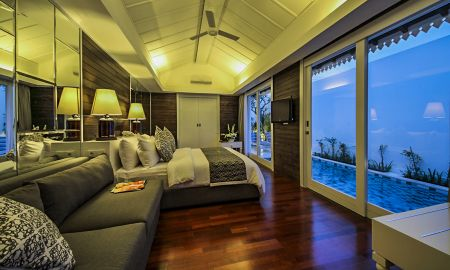 Villa avec une Chambre - Piscine Privée - Astana Batubelig Villa - Bali