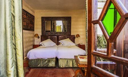 Chambre Deluxe - Coté Jardin - La Maison Arabe - Marrakech