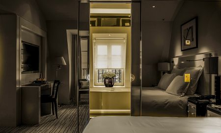 Habitación Delujo - Hotel Montaigne - Paris