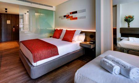 Chambre Premium Triple - Olivia Balmes Hotel - Barcelone