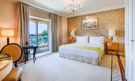 Chambre Deluxe - Vue Nil - Kempinski Nile Hotel - Le Caire