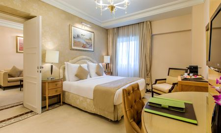 Suite Junior - Vue sur la Ville - Kempinski Nile Hotel - Le Caire