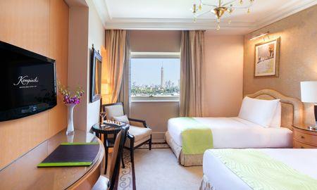Chambre Supérieure - Vue Nil - Kempinski Nile Hotel - Le Caire