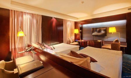 Quarto Deluxo - Kempinski Hotel Khan Palace - Ulan Bator