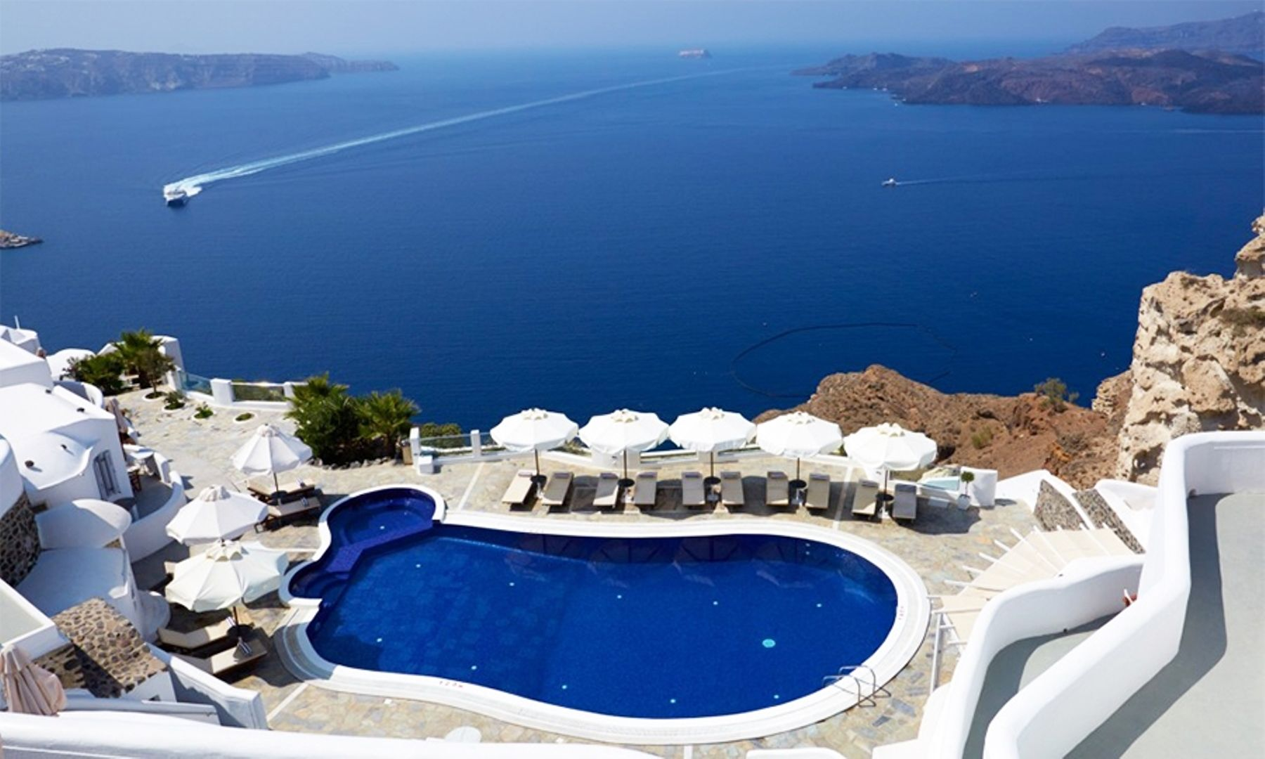 Hotel Volcano View - Santorini