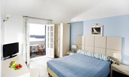Habitación Estandar- Vista al Mar - Hotel Volcano View - Santorini