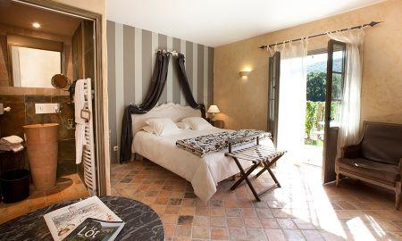Double Room Saint Cirquoise - Hôtel-Spa Le Saint Cirq - Tour-de-faure