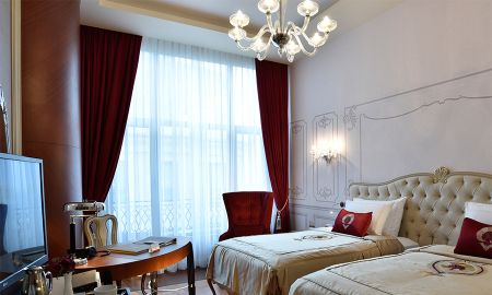 Superior Double or Twin Room with City View - CVK Park Bosphorus Hotel Istanbul - Istanbul