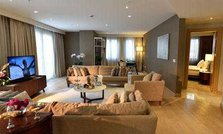 Апартаменты Park Prestige Suites с тремя спальнями - CVK Park Bosphorus Hotel Istanbul - Istanbul