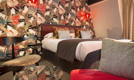 Chambre Classique - 2 Coupes de Champagne offertes - Hotel Les Dames Du Pantheon - Paris