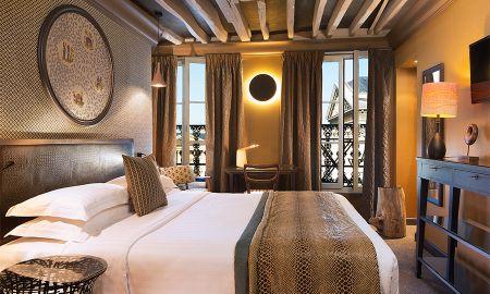 Chambre Supérieure Panthéon - 2 Coupes de Champagne offertes - Hotel Les Dames Du Pantheon - Paris