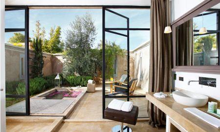 Pool Villa -Free airport transfer, Free Breakfast, Free Wifi- - Palais Namaskar - Marrakech