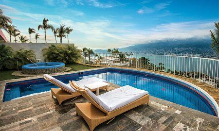 Suite Master com Jacuzzi - Las Brisas Acapulco - Acapulco