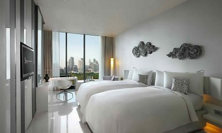 So Cosy Twin Room with City Skyline View - SO Sofitel Bangkok - Bangkok