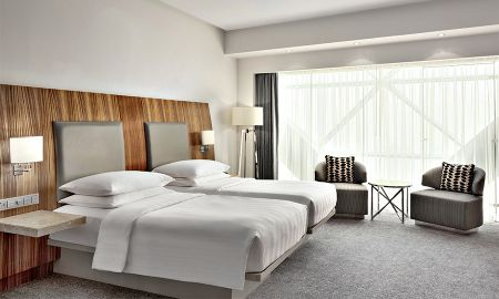 Quarto Twin - Andaz Capital Gate Abu Dhabi - A Concept By Hyatt - Abu Dhabi