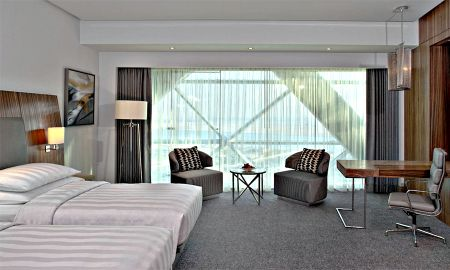 Quarto Deluxe Twin - Andaz Capital Gate Abu Dhabi - A Concept By Hyatt - Abu Dhabi