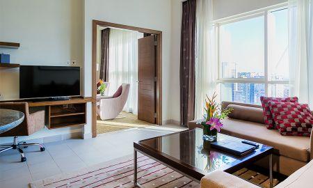 Apartamento Executivo Dois Quartos - Grand Millennium Al Wahda Abu Dhabi - Abu Dhabi