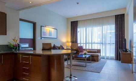 Apartamento Executivo Um Quarto - Grand Millennium Al Wahda Abu Dhabi - Abu Dhabi