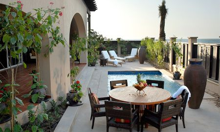 Villa Familiare Anantara Due Camera con Piscina - Anantara Desert Islands Resort & Spa - Abu Dhabi