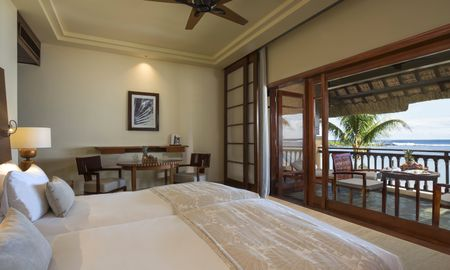 Oceanfront Junior Suite - Shanti Maurice Resort & Spa - Mauritius Island