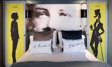 Camera Classic - Wifi Gratis - Hotel Les Plumes - Parigi