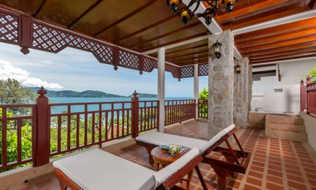 One Bedroom Hillside Suite with Terrace Bathtub - Thavorn Beach Village Resort & Spa Phuket - Phuket