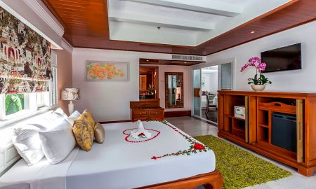 Apartamento Um Quarto com Vista do Oceano - Thavorn Beach Village Resort & Spa Phuket - Phuket