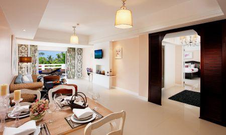 Three Bedroom Terrace Suite with Bathtub - Thavorn Palm Beach Resort Phuket - Phuket