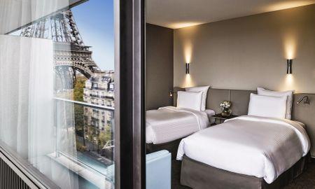 Camera Twin Deluxe con Balcone - Pullman Paris Tour Eiffel - Parigi