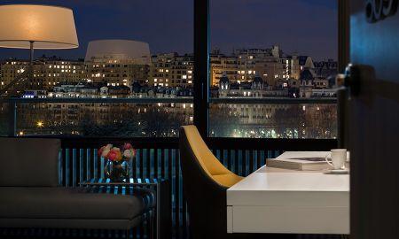 Chambre Deluxe avec vue Trocadero et Tour Eiffel - Pullman Paris Tour Eiffel - Paris