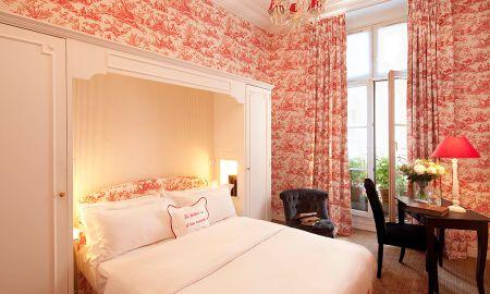Camera Classica con vasca da bagno - Hotel Saint Germain - Parigi