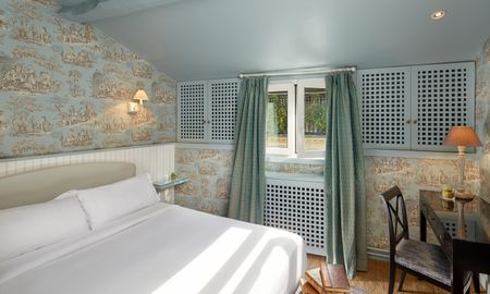 Chambre Classique avec baignoire - Hotel Saint Germain - Paris