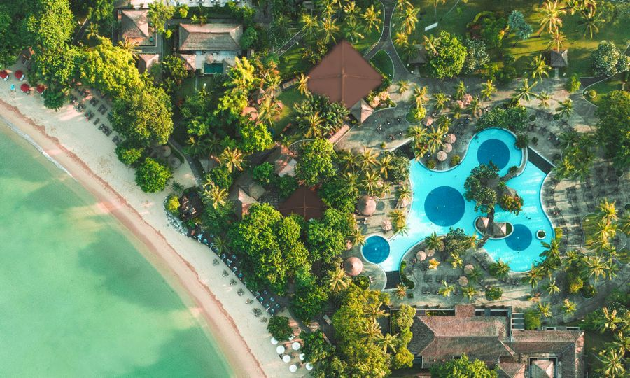 Carte Satellite Bali.Hotel Melia Bali Booking Info