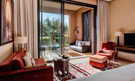 Junior Suite - Garden View - Fairmont Royal Palm - Marrakech