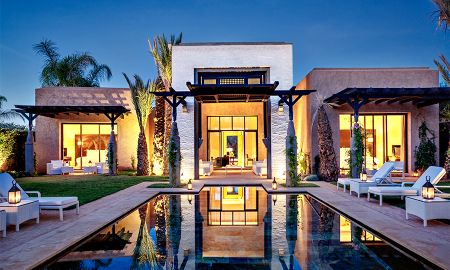 villa Prinzen mit privatem Pool - Fairmont Royal Palm - Marrakesch