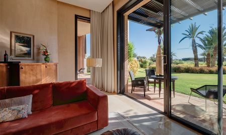 Suite Deluxe - Vue Jardin - Fairmont Royal Palm - Marrakech