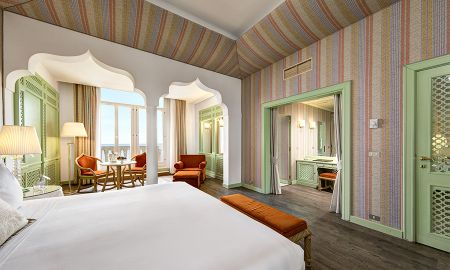 Grand Deluxe Double Room - Sea View - Hotel Excelsior Venezia - Venice