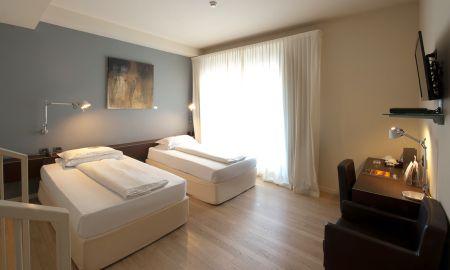 Quarto Superior Twin - I Portici Hotel - Bolonha
