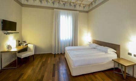 Quarto Duplo Deluxe - I Portici Hotel - Bolonha