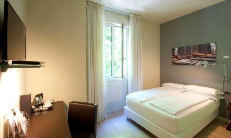 Quarto Duplo Standard - I Portici Hotel - Bolonha