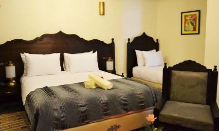 Dreibettzimmer - Hotel Riad Ben Atar - Essaouira