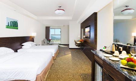 Quarto Deluxo - Vista Cidade - Havana Nha Trang Hotel - Nha Trang