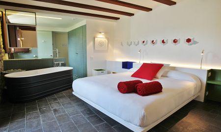 Suite Junior - CUBÍCULO - La Demba Art-Hotel - Huesca