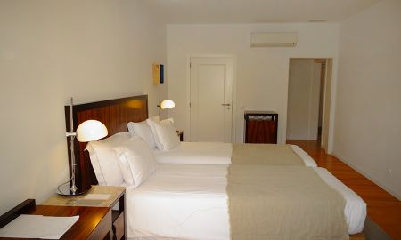 Superior Twin Room with Street View - Lisboa Prata Boutique Hotel - Lisbon