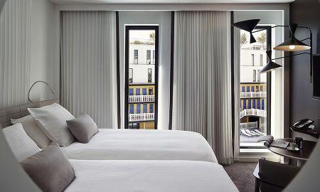 Chambre Classique Twin avec Vue sur la Piscine - Hotel Molitor Paris By MGallery - Paris